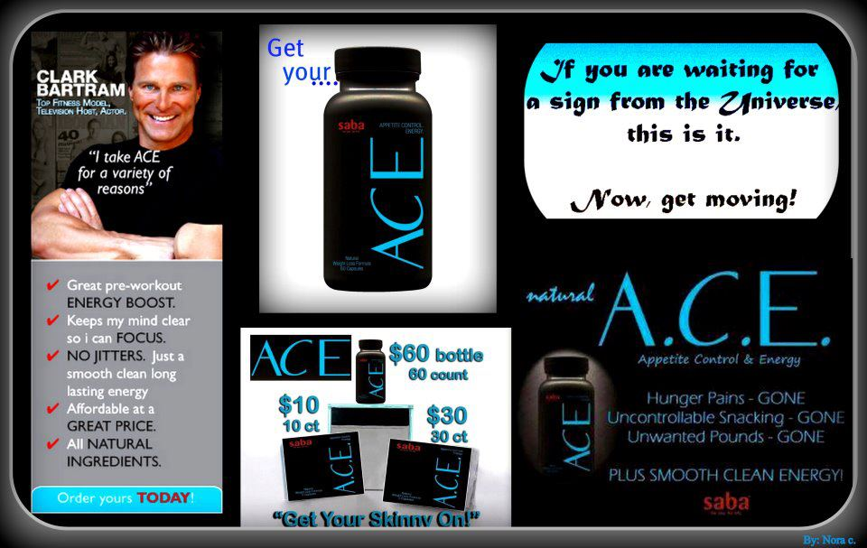 """NEW. ACE NATURAL WEIGHT LOSS DIET PILL SUPPLEMENT CAPSULES 60 CT ENERGY """" Healthy Weight Loss"""