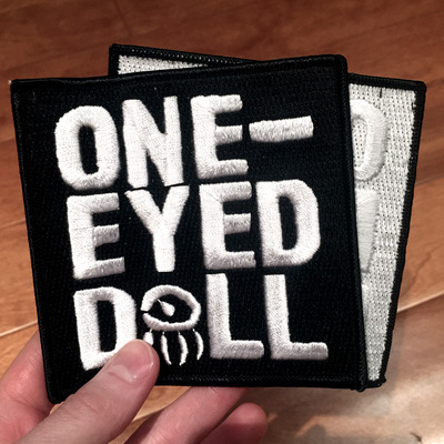 "Deluxe embroidered 4"" patch"