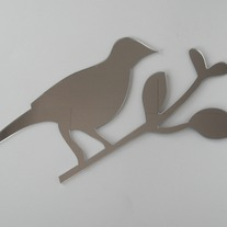 "Objectify ""Bird on a Branch"" Mirror"