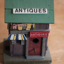 Antique Store Shaped Birdhouse