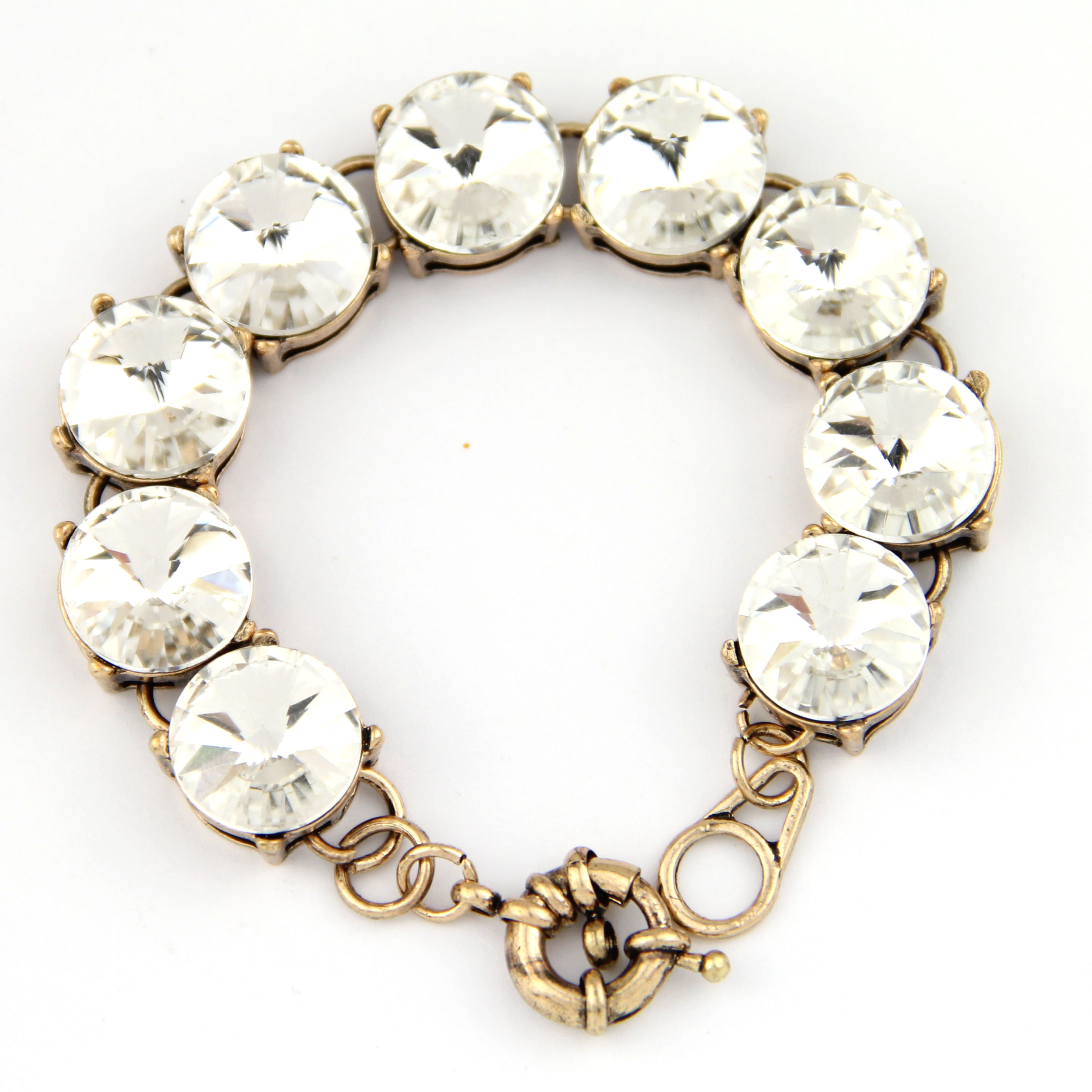 multi sterling gold diamond plated stone itm in brass silver row with ct gem flash bracelet natural two