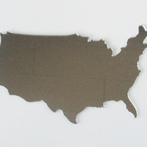 Objectify USA Map Mirror