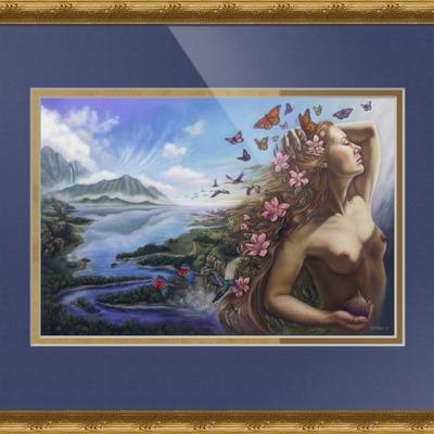 framed fine art print gnosis