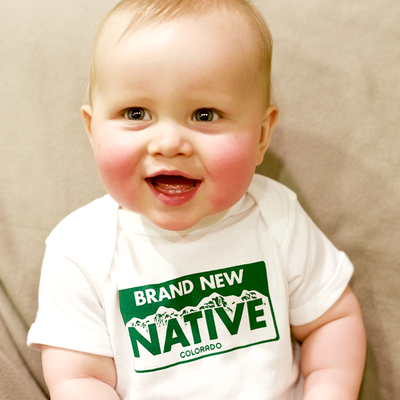 Brand new native [baby]