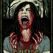 Swamphead Limited Art Print