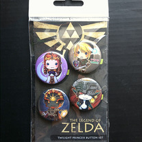 Mini Zelda button set!