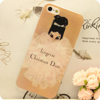 New Luxury Designer Chic Fashion Girl Pink iPhone Case