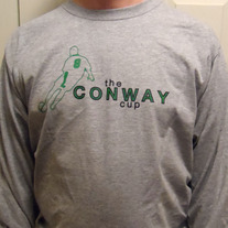 2013 Long-Sleeved Conway Cup tshirt