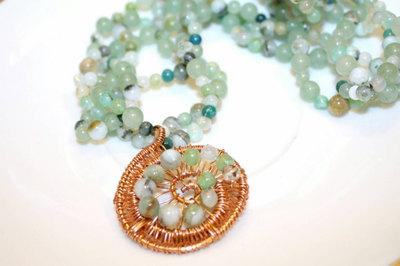 Peruvian Opal by Marla Bee Designs