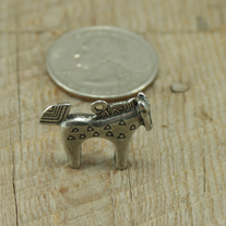 Paint Horse Pewter Charm