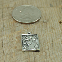 Frida Pewter Charm