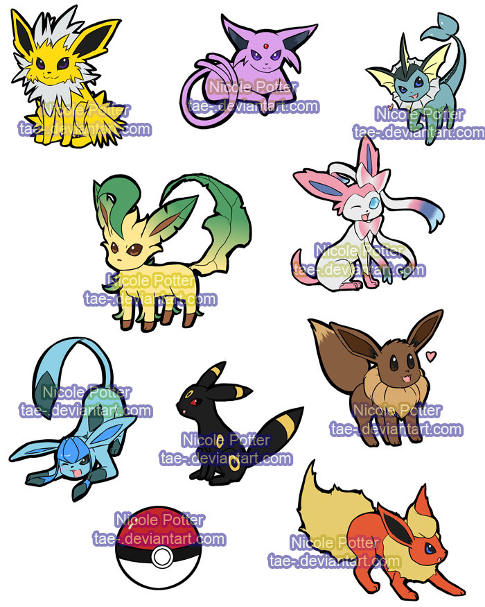 Pokemon Sticker Project Batch 1 2