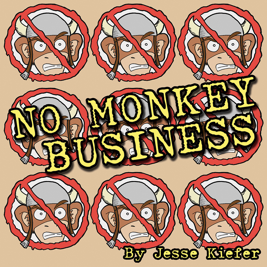 No Monkey Business (Tank-Monkey Vol. 1) Cover