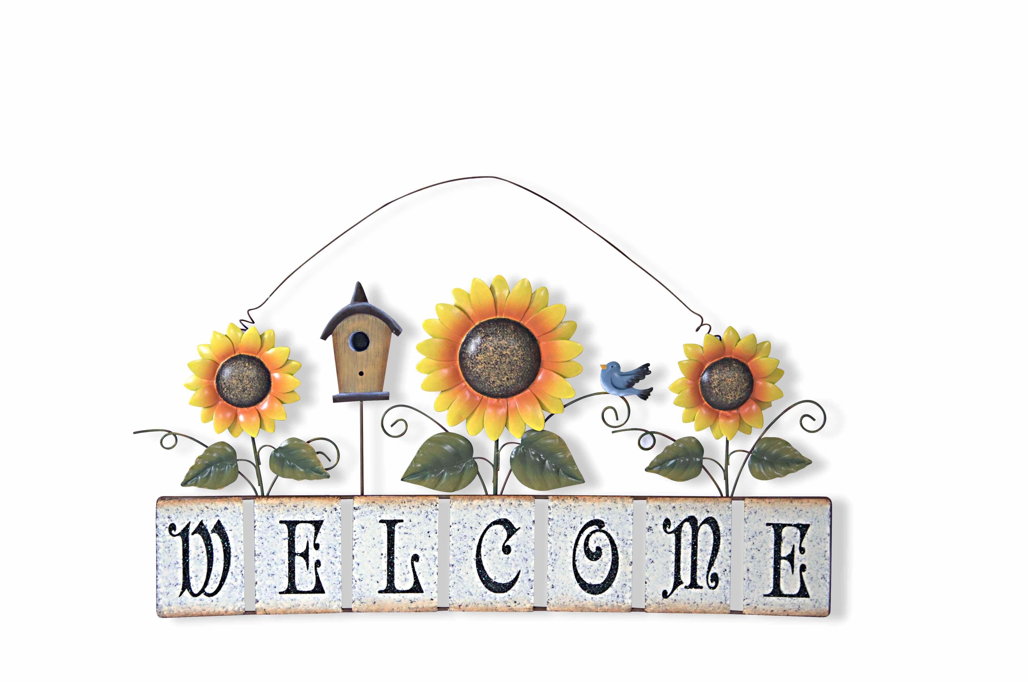 annie design sunflower wel e sign online store