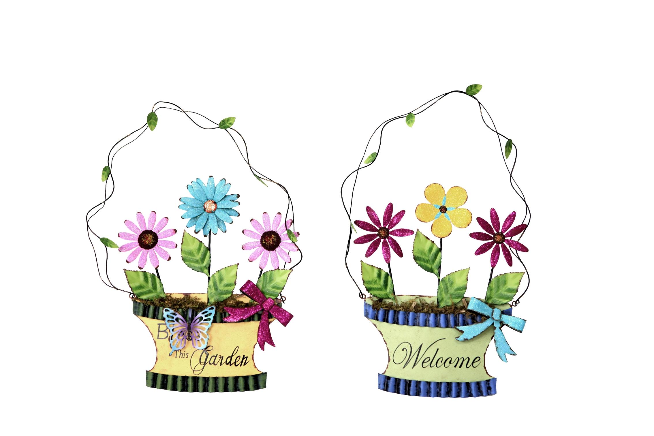 Annie design wall flower baskets online store powered by storenvy - Wall flower design ...
