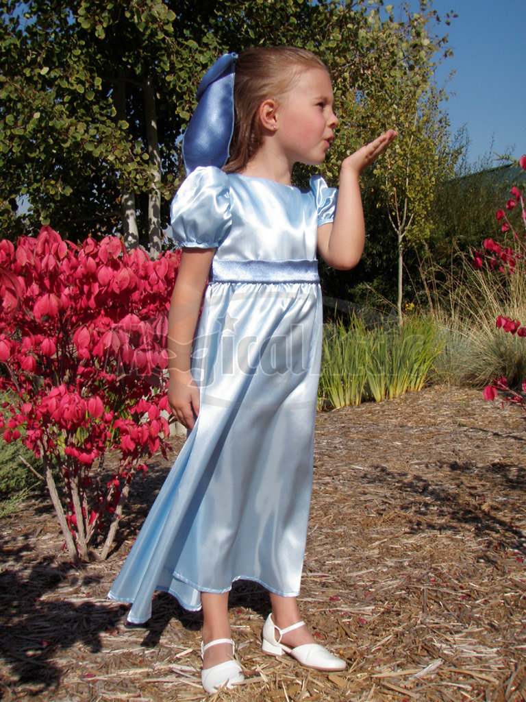 Custom Boutique Wendy Darling Of Peter Pan Girl Size