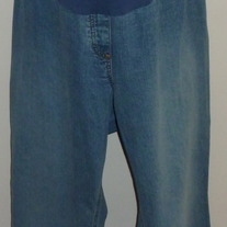 Denim Jeans-Motherhood Maternity Size 3X  04073