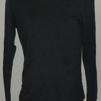 Gray Long Sleeve Shirt-Gap Maternity Size Medium