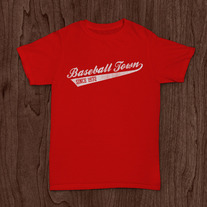 Baseball Town Script Red