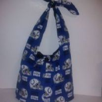 Indianapolis Colts Cotton Print Tie Bag