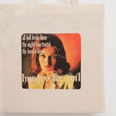 Hungry for evil tote