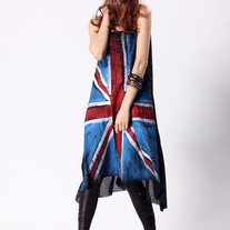 Vestido Bandera UK/UK Flag Dress 2WH237