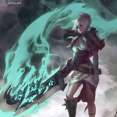 "Riven: 11""x17"" poster"