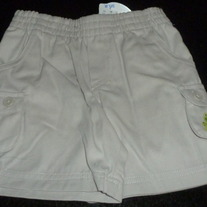 Khaki Shorts with Frog-NEW-Koala Baby Size 6-9 Months
