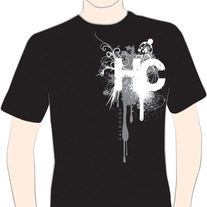 """HC"" Shirt Black (CLOSEOUT ITEM)"