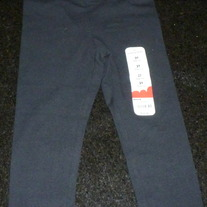Black Leggings-NEW-Jumping Beans Size 2T