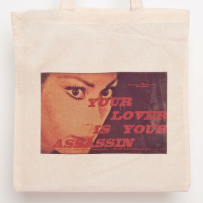 Lover is your assassin tote