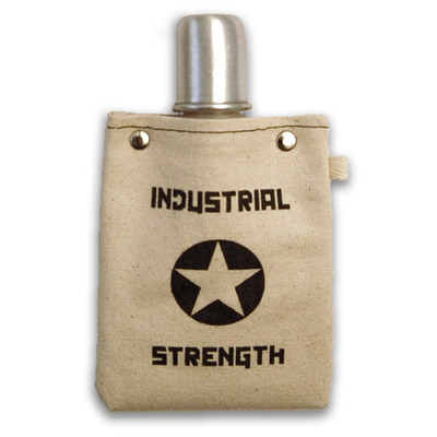 Industrial strength flask