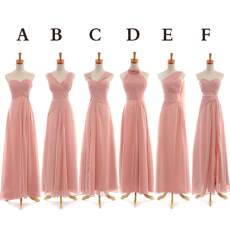 Bridesmaid dress designs pictures