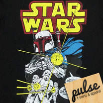 Starwars Black Unisex T-Shirt