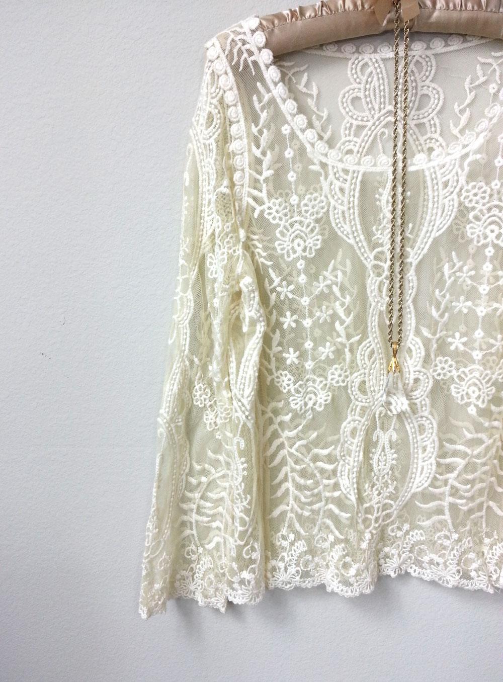 Vintage Lace Blouses