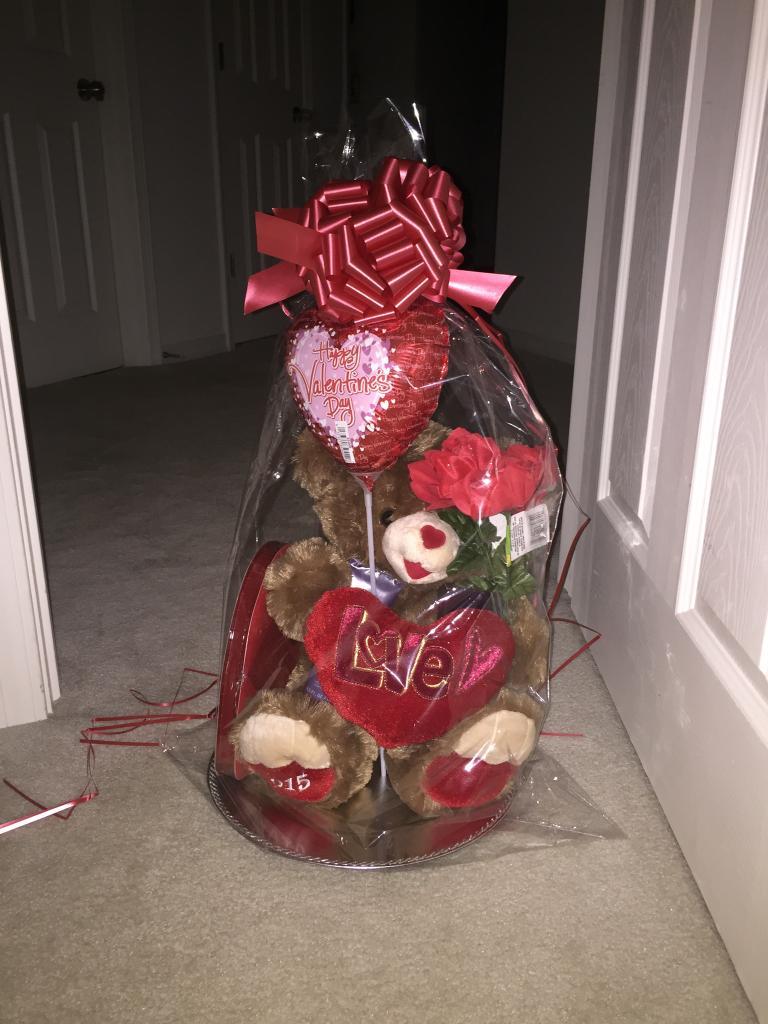 Mary Kay's Valentine's Day BIG Teddy bear gift set