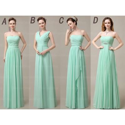 Mint bridesmaid dresses different dresses pictures