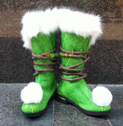 TK10 Tinkerbell winter boots furry