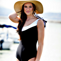 Black & White Affair One-Piece Swimsuit