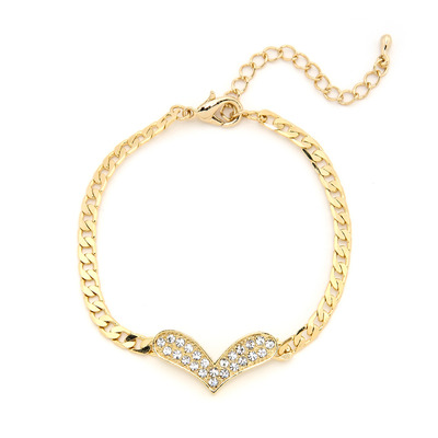 One and only love bracelet - gold