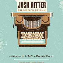 Josh Ritter - Minneapolis Poster