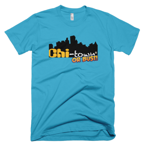 The chi town or bust blue pw2 t shirt on storenvy Chi town t shirts