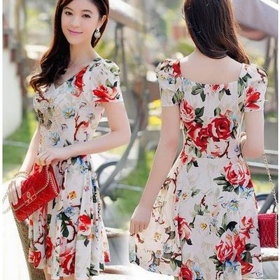 Fall winter collection daisy dress for less online store pretty flower printed spring dressfreeshipping worldwide mightylinksfo