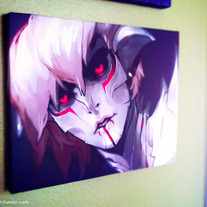 Avok's Parasite Signed Canvas Print