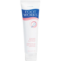 Foot Works Overnight Renewing Foot Cream by Avon
