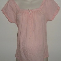 Light Pink Top-Old Navy Maternity Size Medium  CL413
