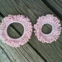 Custom hair scrunchies lg