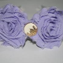 """Lilac Dream"" Shabby sass headband"