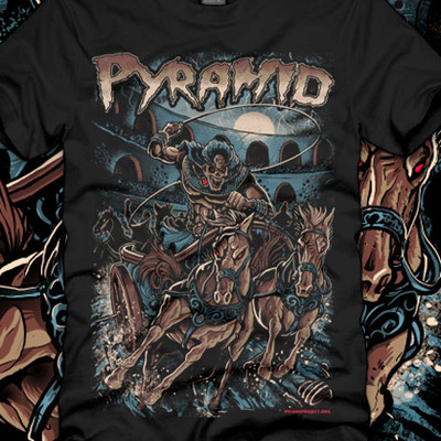 Pyramid - chariot race girly top