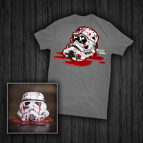 """Busted Trooper"" Toy & Tee"